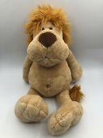 Official NICI Lion Plush Kids Soft Stuffed Toy Animal Doll Wild Brown Teddy Bear