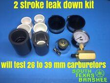 26mm carb to 39mm carb 2 stroke leak down kit Banshee,Blaster,YZ125,250 etc