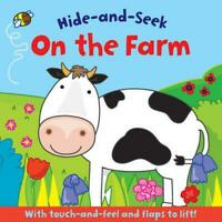 On the Farm (Hide and Seek) by , Good Used Book (Board book) Fast & FREE Deliver