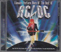 Livewire Perform More Of The Best of AC/DC Tribute Band CD FASTPOST