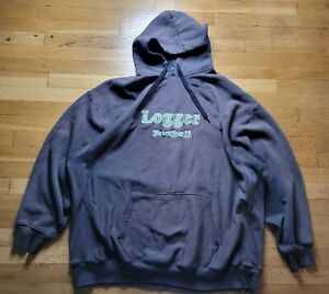 University of Puget Sound logger football Pullover Hoodie Hooded sweater sz. 4XL