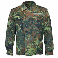 German Army Shirt FLECKTARN CAMOUFLAGE All Sizes Grade 1 Military Surplus Top