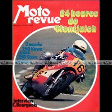 MOTO REVUE N°2133 OSSA 250 ENDURO, KAWASAKI 250 F11 M, 24 HORAS BARCELONAS 1973
