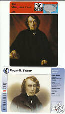 ROGER BROOKE TANEY Merryman Case History STORY AMERICA LOT OF 2 CARDS