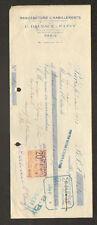 """PARIS (IV°) USINE de VETEMENTS pour ENFANTS """"G. DALSACE & P. LEVY"""" en 1923"""