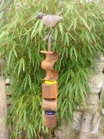 Gartenstecker Beetstecker Edelrost Vogel , Gartendeko,Metall Rost Deko Tier