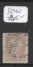 CANADA (P0909B) SMALL QUEEN 10C SC 40  VFU