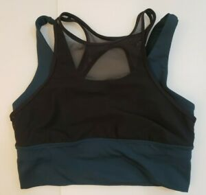 Lululemon Sports Bra Top Multicolor mesh Size 6