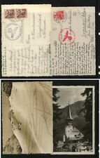 Switzerland   2  nice photo  cards,  German   censor mark        MS0125