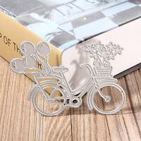 Bicycle Metal Cutting Dies Stencil Scrapbooking Paper Card Album Photo Craft NT