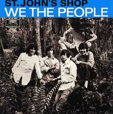 "WE THE PEOPLE ""ST.JOHN'S SHOP"" RE BLUE VINYL EP MINT"