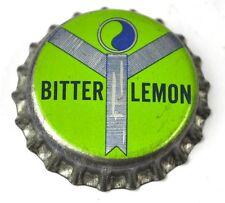 Bitter Lemon Soda Kronkorken USA Bottle Cap Korkdichtung