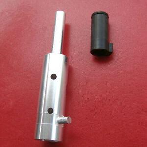 Tippmann Custom 98 Al Power Tube and Derlin Front Bolt----Silver Color