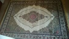 Brand new real silk hand woven rug