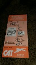 1988 CAT Bus Schedule Cameron st Capitol Complex Harrisburg Enhaut Steelton Rare