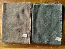 Lot of 2 linen wool Cross Stitch, Embroidery Fabric