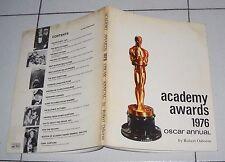 Robert Osborne ACADEMY AWARDS 1976 Oscar Annual - ESE Premio Annuario
