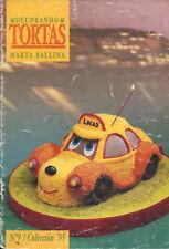CAKE DECORATING Marta Ballina Magazine 1995 #9 Argentina