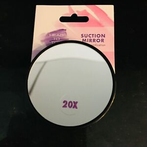 Magnification Mirror 3,5,10,12, + 20 Suction Cups  Makeup Eye Brows Plucking