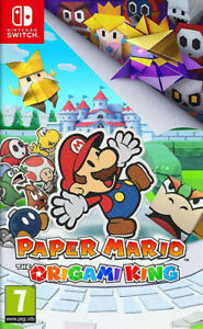 Jeu Switch - PAPER MARIO The origami king - TBE