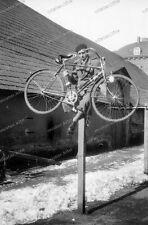 Negativ-Darmstadt-Marstall-Mann-Fahrrad-Balken-men-fun-bike-1930er-Jahre-1930s-1