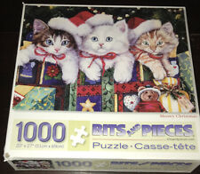 Bits & Pieces 1000 Jigsaw Puzzle Meowy Christmas Jenny Newland Cats Gifts Cat