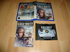 CALL OF DUTY FINEST HOUR DE ACTIVISION PARA LA SONY PS2 USADO COMPLETO