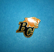 Vintage 1990's British Columbia BC Lions CFL Football Lapel Hat Jacket Pin B