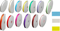 Grosgrain Ribbon  Craft Decoration 3/8 10MM .    1~10M red green yellow pink
