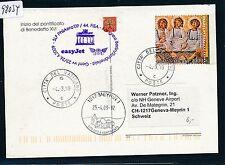 98034) Easy Jet FISA pour LP Berlin-Genève Suisse 23.4.2009, KTE à partir de Vatican