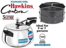 Hawkins Contura Stainless Steel 5 L Induction Bottom Inner Lid Pressure-KSR