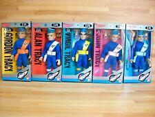 Thunderbirds rare vintage 1992  set of 5 figures Japanese Bandai anime import
