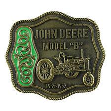 John Deere Model B Belt Buckle Vintage Fashion Designer Belts Buckles