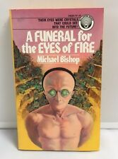 A Funeral For the Eyes of Fire- Michael Bishop- 1st Ballantine 1975 Gene Szafran