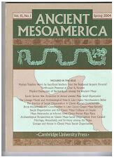 ANCIENT MESOAMERICA - Vol. 15, No. 1 - Spring 2004 , - englischer Sprache -