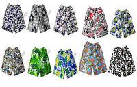 Mens Boys Summer Beach Shorts Swim Pool Floral Boxer Shorts Trunks Night Wear