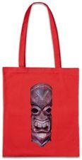 TIKI HEAD III Shopper Shopping Bag Hawaii Tattoo Rockabilly Custom Skull