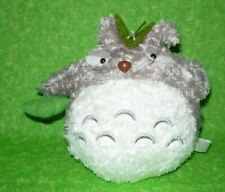 """TOTORO Plush with Suction Cup Hanger Stuffed Animal Display Decor Toy 6"""" tall"""