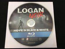 Logan Noir [Blu-ray, 2017] Hugh Jackman - Black and White version DISC ONLY