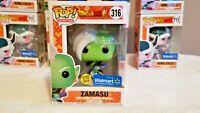 Funko Pop! Zamasu Glow in the Dark Dragonball Z DBZ GITD #316 Walmart Exclusive