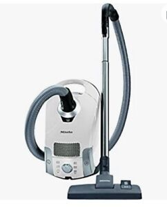 Brand New Miele Compact C1 Pure Suction Powerline Canister Vacuum, Lotus White