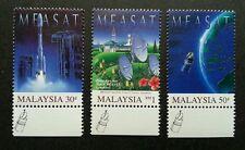 Malaysia East Asia Satellite MEASAT 1996 Astronomy Space (stamp logo) MNH