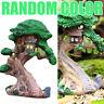 Miniature Fairy Elves Tree House Garden Lanscape Figurine Craft Plant Pot Decor