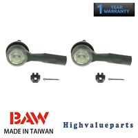 BAW Pair ES800030 Tie Rod End Outer for Chevrolet HHR Pontiac G5 Saturn Vue