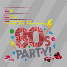 80's Party Double Aerobics Fitness Continuous Megamix Music CD's Double Album