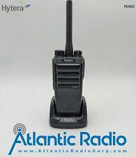 Hytera Pd402i Uhf 400-470Mhz Digital Portable Two-Way Radio with Charger