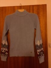 North Face Jumper Ladies - Blue - New - Size S