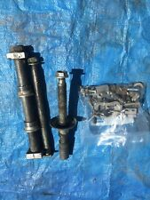 2004 04 Honda Crf450r Crf 450 Crf 450r Axles Set Front Rear Fender Pivot Shaft