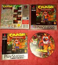 Crash Bandicoot Sony PlayStation 1 ps1 PSX one completamente ❤ ps2