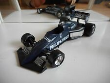 "Bburago Burago F1 Formula 1 Brabham BT 52 ""Philips Video"" in Dark blue on 1:24"